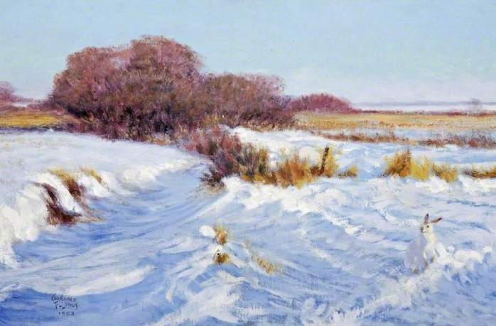 Tillenius, Clarence, 1913-2012; Prairie Creek in Winter